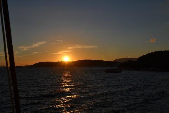 Paloma Club Sultan Ozdere: coucher de soleil