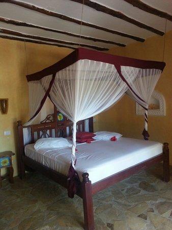 Waridi Beach Resort & Spa: Stanza....