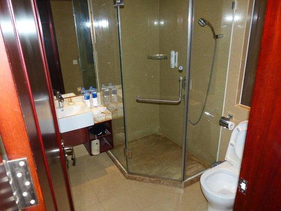 Changfeng Garden Hotel : Shower