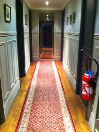 Hotel de la Porte Doree : Hall