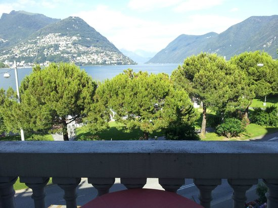 Hotel Victoria au Lac: The view from room #16