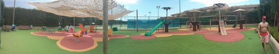 Insotel Cala Mandia Resort & Spa: Kids playground panaramic