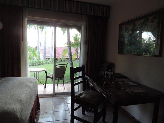 Parador Resort and Spa: Jardincillo trasero