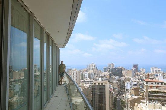 Staybridge Suites Beirut: Balcony
