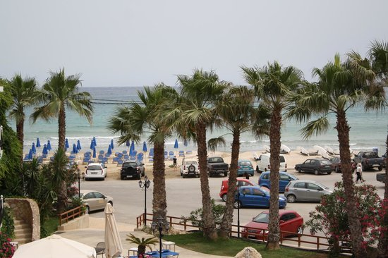 Almyrida Beach Hotel : Another view from our room.  You can see how close the beach is.
