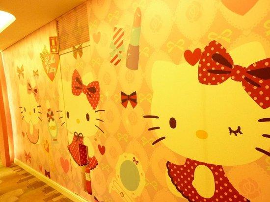 Lotte Hotel Jeju: キティ壁