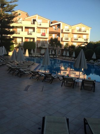 Contessina Hotel: view from room 308