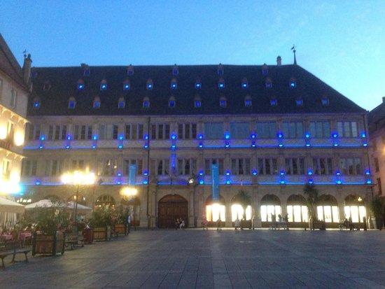 Place Gutenberg: Al atardecer