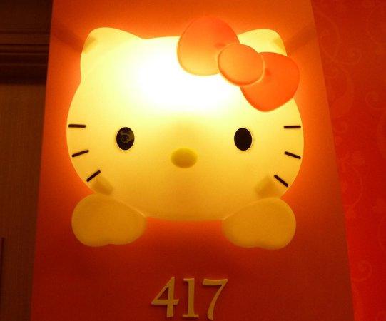 Lotte Hotel Jeju: キティlight