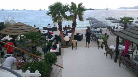 Juan les Pins Main Beach : Fantastico paese per le vacanze