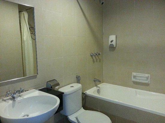 Swan Garden Hotel: Serviceable bathroom