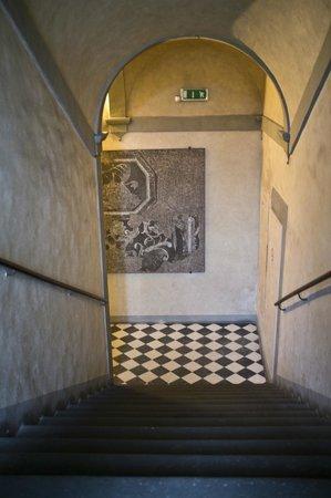Hotel Bavaria : stairs