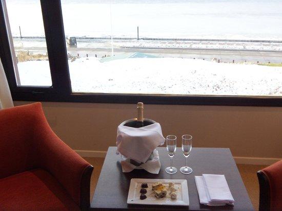 Xelena Hotel & Suites: Recepción en la habitación