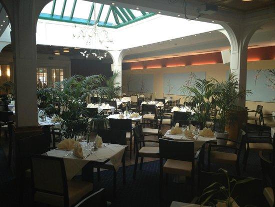Austria Trend Hotel Ananas: Зимний сад