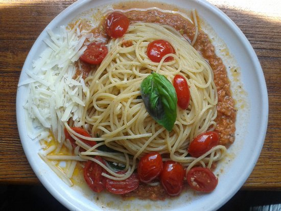 Osteria Da Giannino: Spaghetti al pomodoro datterino