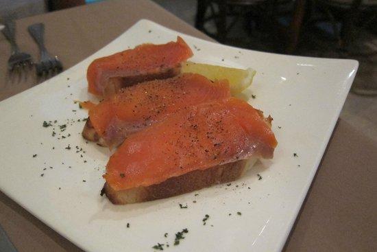 Duomo: Smoked salmon