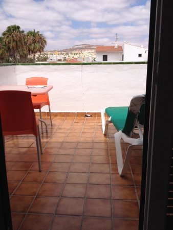 Puerto Caleta : Balcony