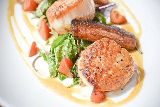 Amen Street Fish & Raw Bar : Seared Scallops