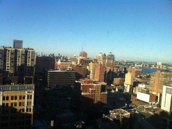 Holiday Inn Express Manhattan Midtown West : Vue de la chambre