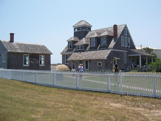 Chicamacomico Life-Saving Station Historic Site & Museum : The station and museum