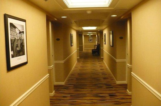 Warwick Seattle: Hallway, 15th floor