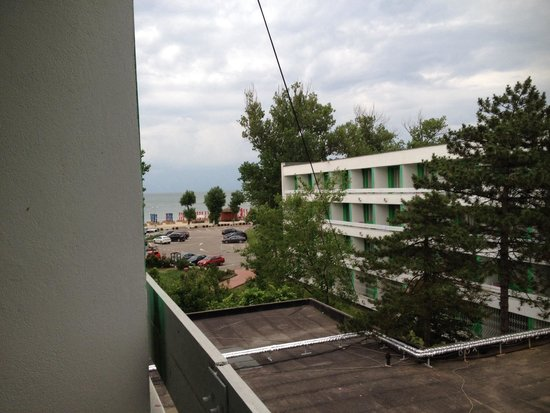 Hotel Siret: Sea view from the balcony