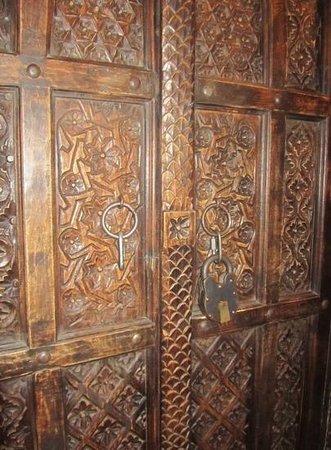 Wilson Creek Manor: Door to room