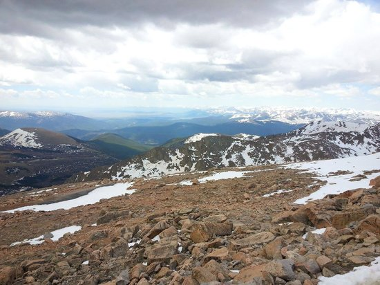 Mount Evans Scenic Byway: Miles and Miles