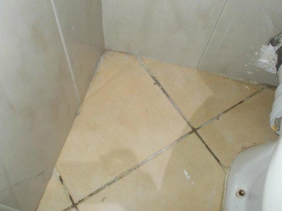 Marhaba Royal Salem: floor in the toilet