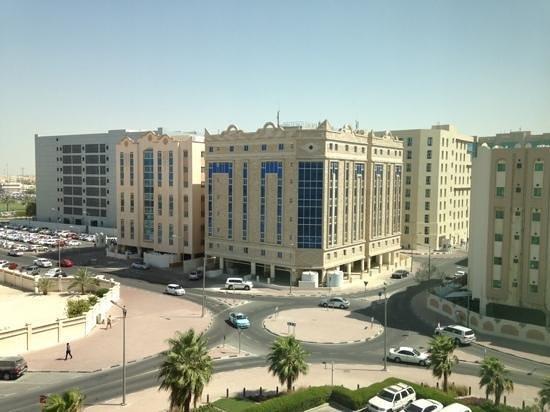 Oryx Rotana Doha: view from my room
