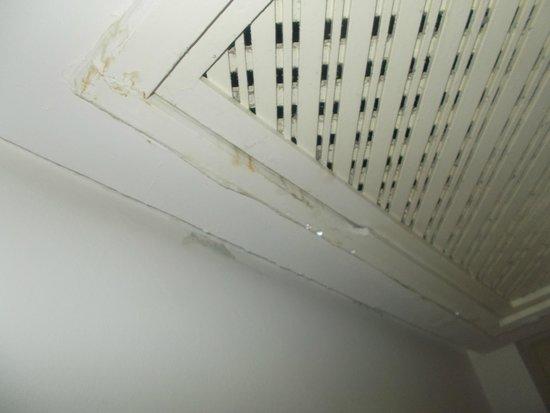 Marhaba Royal Salem: leak which was making the floor wet  in the hallway