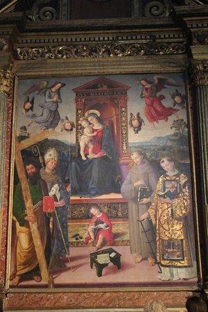 Chiesa di Sant'Andrea: Pala d'Altare del Pintoricchio