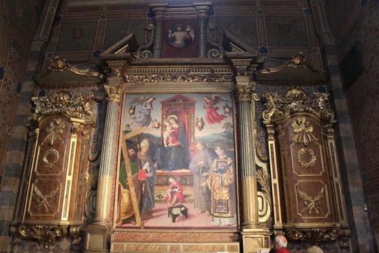 Chiesa di Sant'Andrea : Pala d'Altare del Pintoricchio