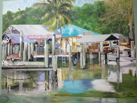 Little Bar Restaurant : Post Office murals