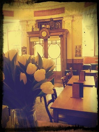 Inside of Cafe Bruxelles, Leicester