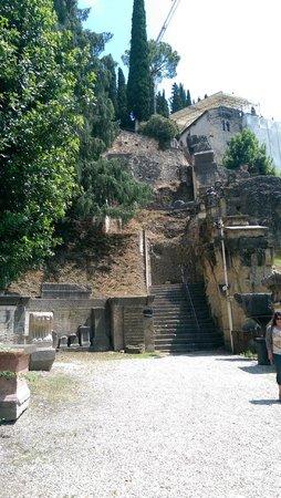 Teatro Romano: Hope you like uneven steps..haha