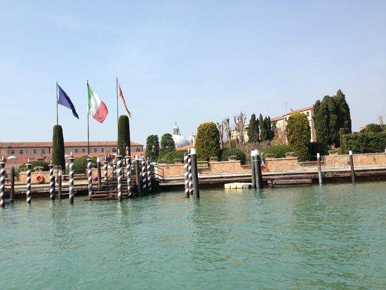 Belmond Hotel Cipriani: arrival