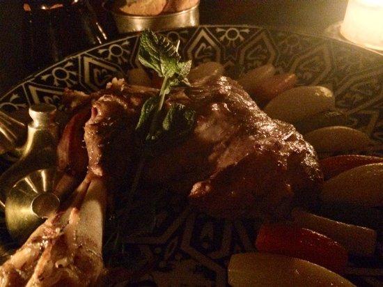 Palais Jad Mahal: Main course - slow cooked lamb