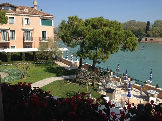 Belmond Hotel Cipriani: view from the room