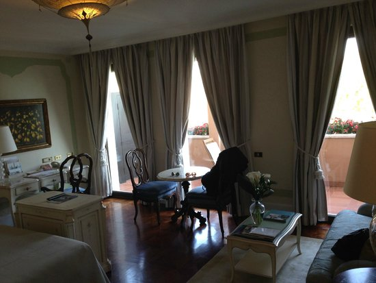 Belmond Hotel Cipriani: room with terrace