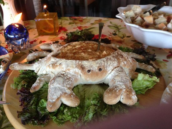 Annville Inn : Special Crab Appetizer from Chef Lisa