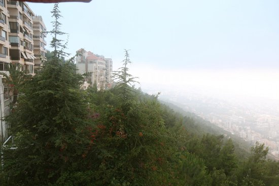 Bay Lodge Boutique Hotel: View to Jounieh