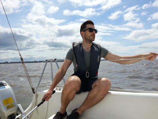 Bay Sea School: Sailing across the Bay to Arnside