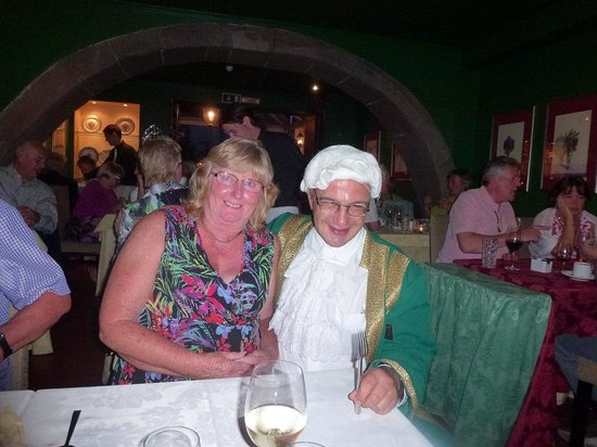 Restaurante Mozart : The wife with Mozart
