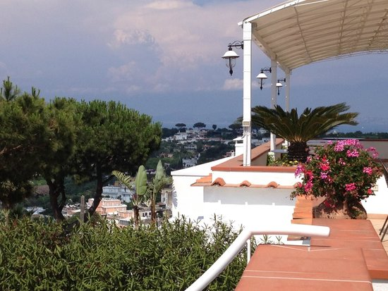 Poggio Aragosta Hotel & Spa: vista su Napoli