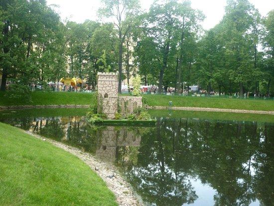 Michael Garden (Mikhaylovskiy Sad): пруд Михайловского  сада