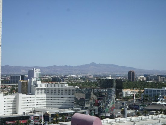 Circus Circus Hotel & Casino Las Vegas : View from the tower block