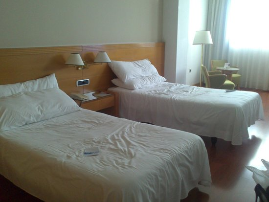 Tryp Malaga Alameda Hotel: dos camas muy separadas