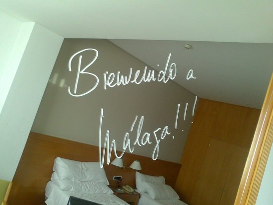 Tryp Malaga Alameda Hotel: detalle del espejo