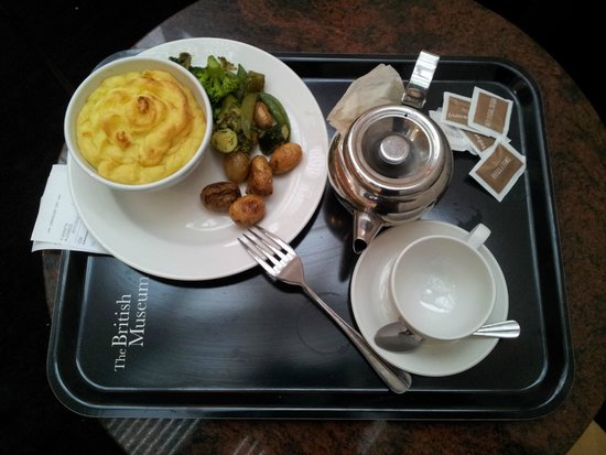 British Museum: Кафе-столовая музея